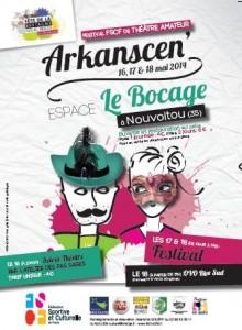 Affiche du festival Arkanscen