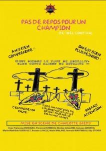 Pas de repos pour un Champion, Joel Contival (2011)