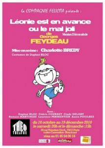 Léonie est en avance ou le mal joli, Georges Feydeau (2010)
