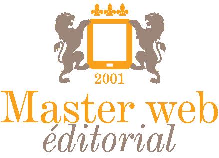 logo du Master Web éditorial à Poitiers