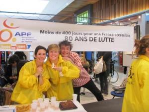 La Compagnie Felicita aide l'Association des Paralysés de France