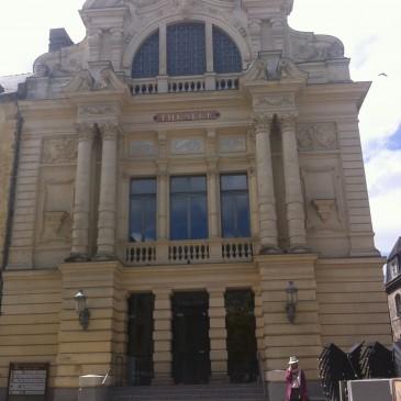 Visite du théâtre de Fougères, représentation le 20 juin au profit d'EMMAUS