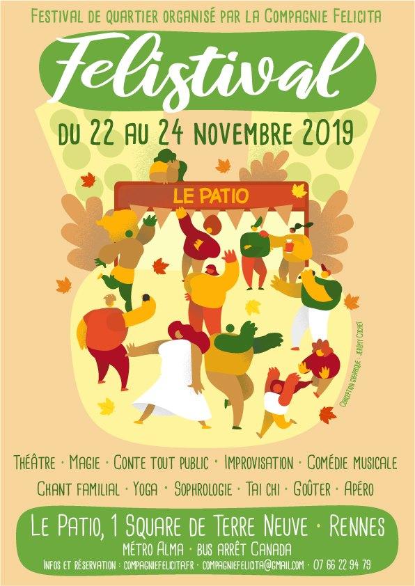 FELISTIVAL 2019 – Festival de quartier – Patio Square de Terre Neuve