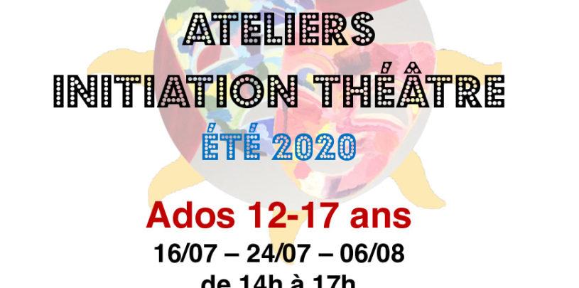 INITIATION Théâtre pour ados de 12 à 17 ans