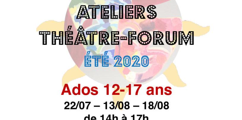 Ateliers Théâtre FORUM pour adolescents de 12 à 17 ans