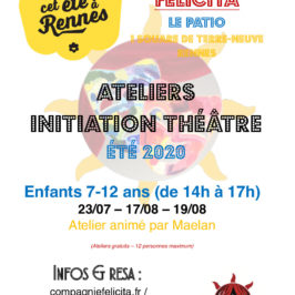 INITIATION Théâtre ENFANTS de 7 à 12 ans
